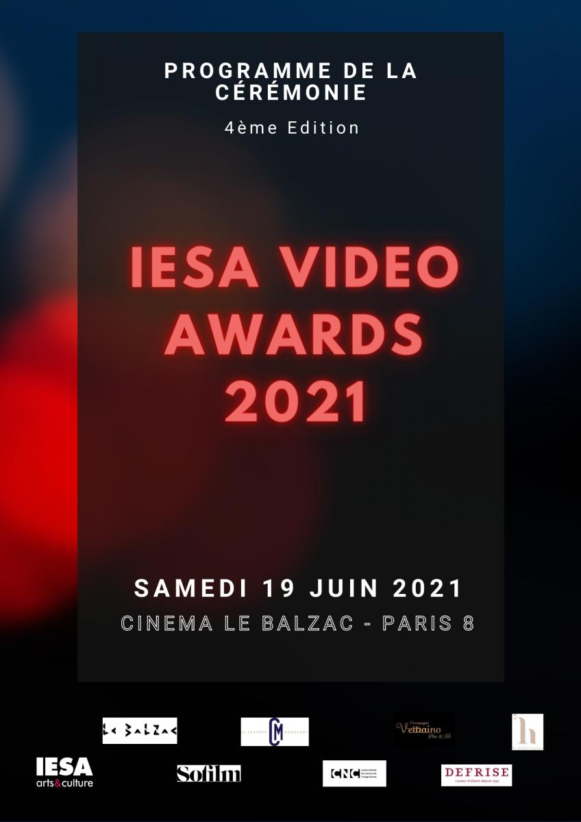CEREMONIE DES VIDEOS AWARDS 2021